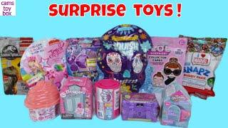 Unboxing Surprise Toys Blind Bags Boxes NUM NOMS Disney My Little Pony Shopkins LOL