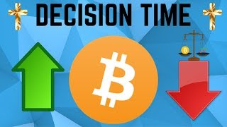It's DECISION TIME For Bitcoin! Golden Cross Is SO CLOSE!  (BTC Technical Analysis)