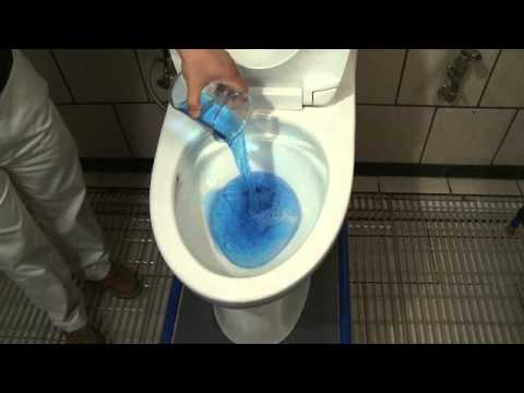 Toto Double Cyclone Flushing System Demo
