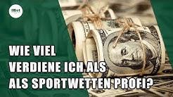 Sportwetten: Wie viel verdiene ich als Sportwetten Profi? 💰
