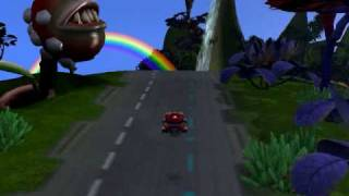 Spore Mario Kart made in Spore: Galactic Adventures!