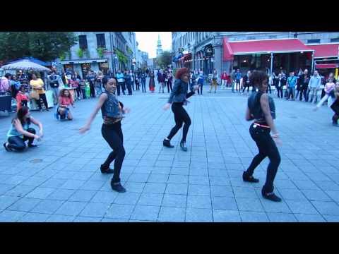 A'MOTION DANCE - MONTRÉAL - Flashmob Summer 2013