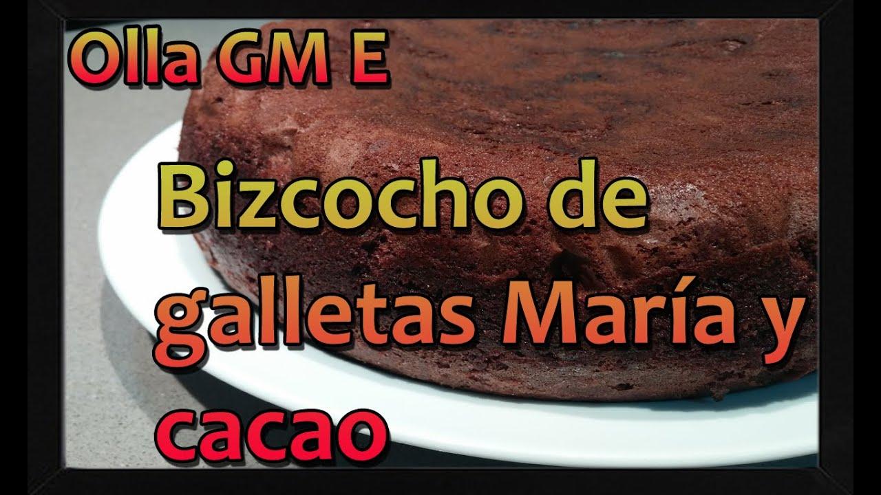 Image Result For Receta Bizcocho Chocolate Y Galleta Maria