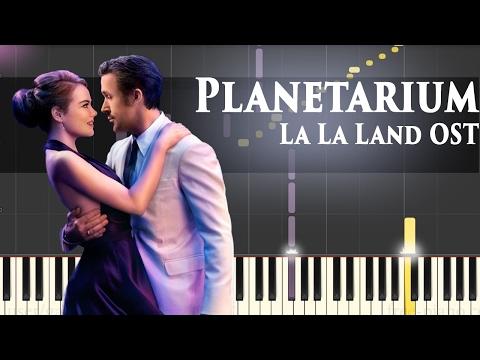 La La Land OST - Planetarium - Piano Tutorial