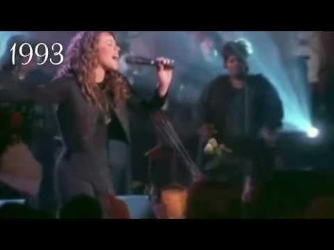 Mariah Carey: C♯5 Vocal Morph