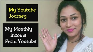 My YouTube Journey|My Monthly Income From YouTube|How much I Earn From YouTube|Mana Inty Tip
