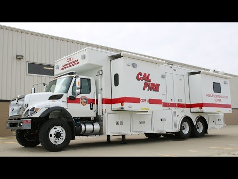International Mobile Command Unit - California Department of Fire, CA