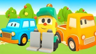 Lifty's shop: Clever cars for kids - Car cartoons for kids.