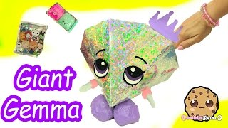 giant gemma stone filled with surprises of shopkins disney handmade fan blind bags