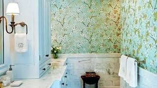 bathroom wallpaper designs - bathroom wallpaper ideas    wall coverings for bathrooms