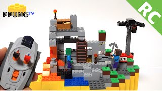 LEGO Minecraft 21113 RC Motorized