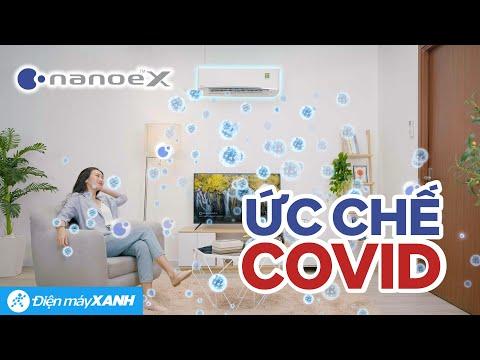 Ức chế virus SARS-CoV-2 nhờ công nghệ Nanoe-X trên máy lạnh Panasonic • Điện máy XANH