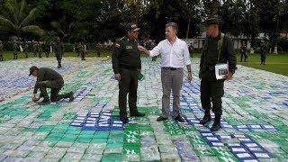 Las FARC Incauta 12 Toneladas de Cocaina en Colombia con Ayuda del Presidente Juan Manuel Santos