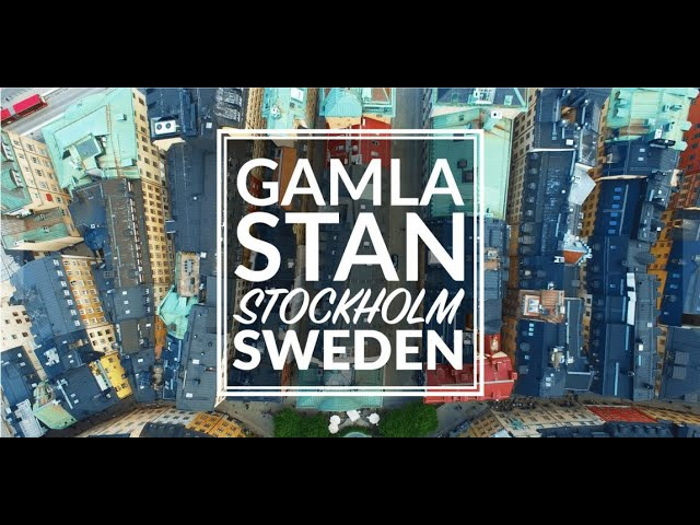 Gamla Stan - Old Town - Stockholm, Sweden
