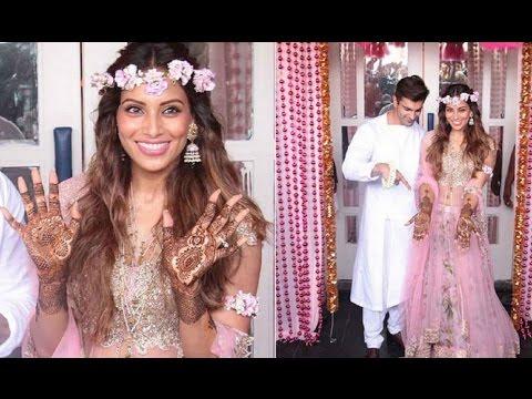 Bipasha Basu's Mehendi Ceremony with beau Karan Singh Grover   FULL INSIDE VIDEO