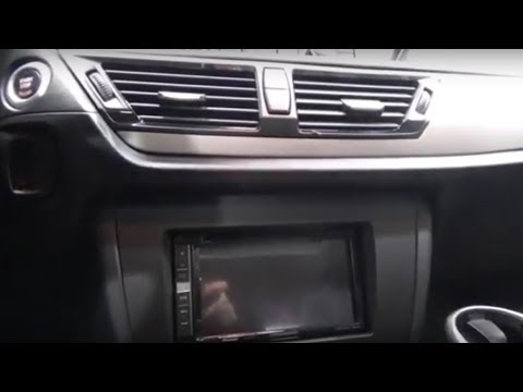 Double Din Radio BMW X1