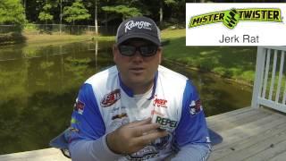 Clent Davis 5 Summertime Mister Twister Baits