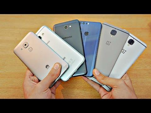My TOP 11 Best Midrange / Budget Phones of 2016!!!! (4K)