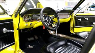 1965 Ford Mustang Yellow