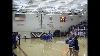 Sedan High School Substate Championship final seconds.  March 2, 2013