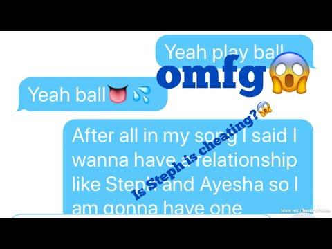 Stephen Curry cheating on Ayesha Curry with cardi b omg😱