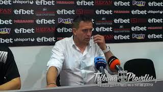 TribunaPlovdivTV: Бруно Акрапович след 2:2 с Черно море