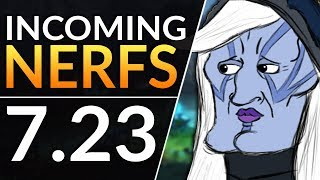 WINNERS and LOSERS of Patch 7.23?! Meta Predictions  - Buffs and NERFS Incoming! | Dota 2 Guide