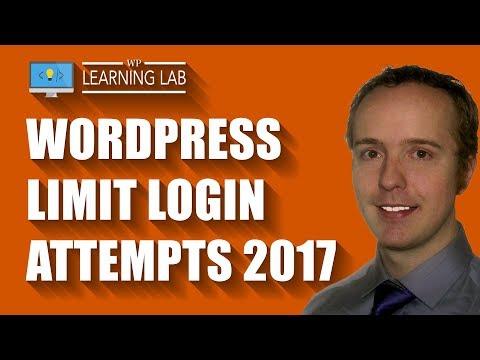 WordPress login attempts