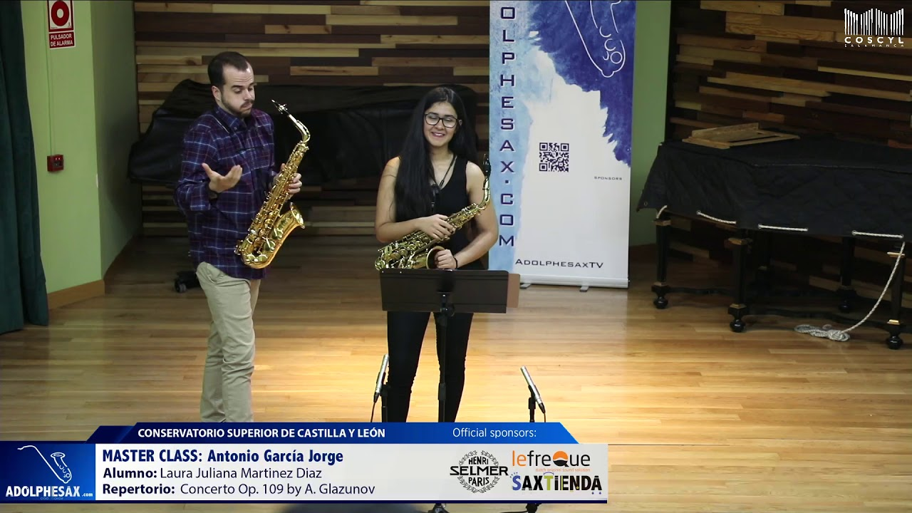 MASTER CLASS - Antonio Garcia Jorge - Laura Juliana Martinez Diaz (COSCYL)