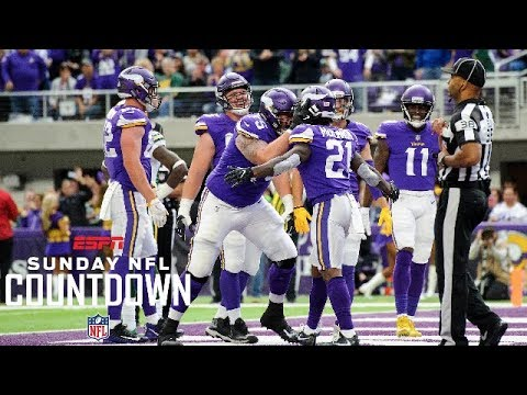 Vikings offensive line still strong without Dalvin Cook | Sunday NFL Countdown | ESPN