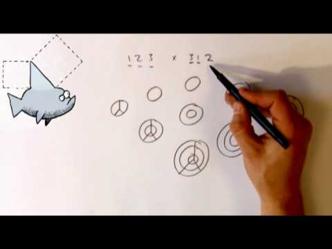Alex Bellos demonstrates an even stranger way of multiplication