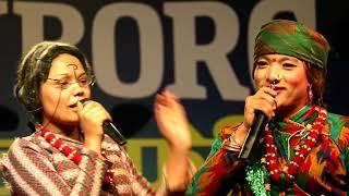 काउली Budi र फुलन्दे को  आमा एकै साथ दोहोरी गाउदै धुम मचाउदै दमकमा | फुलन्देविको Dance मिस नगर्नुहै