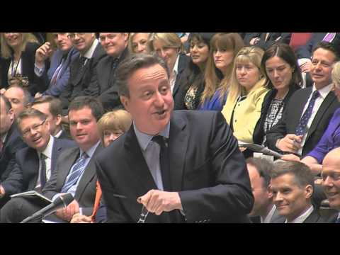 David Cameron vs Jeremy Corbyn - PMQs 23 Mar 2016