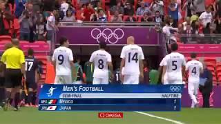 ロンドンオリンピックサッカー男子準決勝 日本対メキシコ