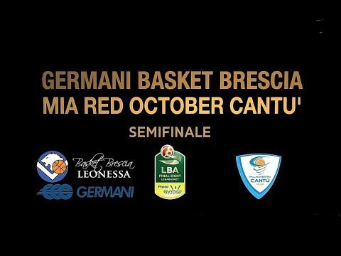 Final Eight 2018: Cantù-Brescia, gli highlights della partita