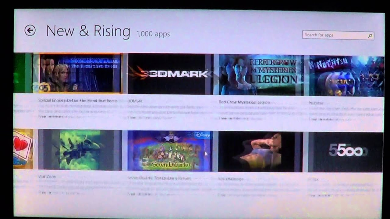 Windows 8 1 Look At The New Windows Store App