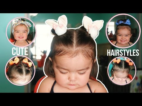 Cute and Easy Toddler Hairstyles | 6 hairstyles