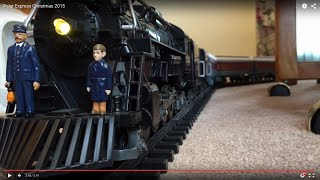 Lionel Polar Express - Christmas 2015