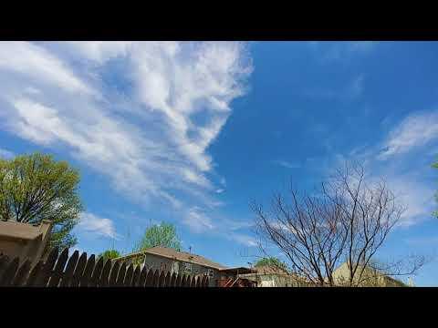 """5/4/18-  strange """"clouds"""", sharp angles"""