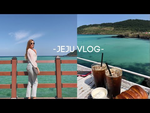 ISLAND VIBES IN KOREA 🌴🇰🇷 Jeju Island Vlog 제주도
