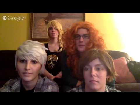 Jack Frost, Hiccup, Merida Livestream! (Feat. Astrid)