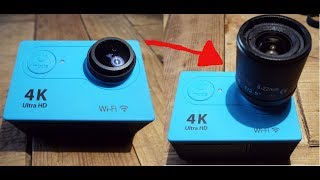 Action Camera Macro Lens Replacement
