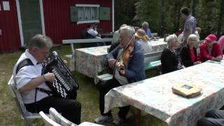 Kaj Berglund o Jan Åke Nilsson på Enångers hembygdsdag