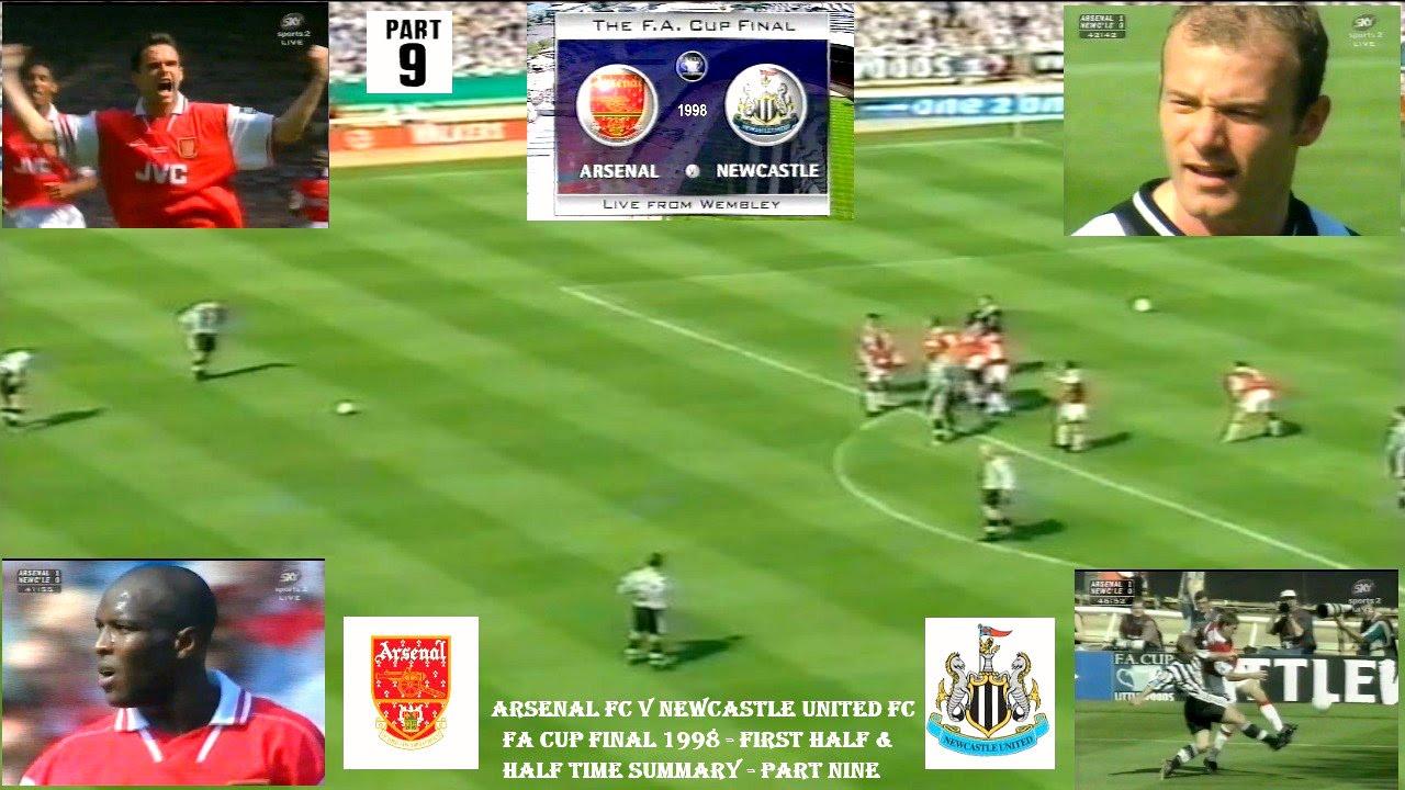 ARSENAL FC V NEWCASTLE UNITED FC-FA CUP FINAL-FIRST HALF ...