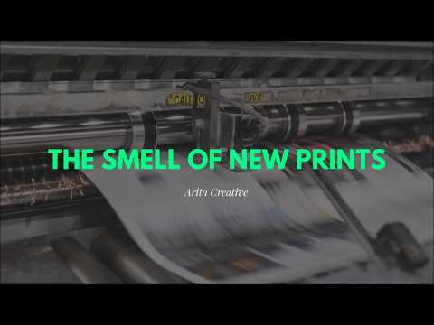 The smell of new prints | Printing press in doha qatar
