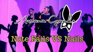 Ariana Grande Note Fails VS Nails