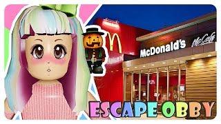 """Flucht aus Fast-Food-Resto-😝"" | Roblox Escape Obby Indonesien"
