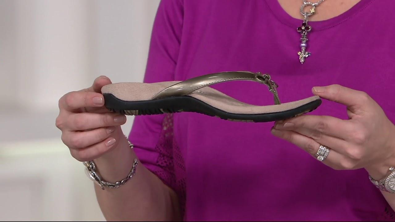 f2f11c8b3410 Vionic Orthotic Sandals - Bella II on QVC - YouTube