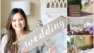 WEDDING DECOR + ETSY VENDORS