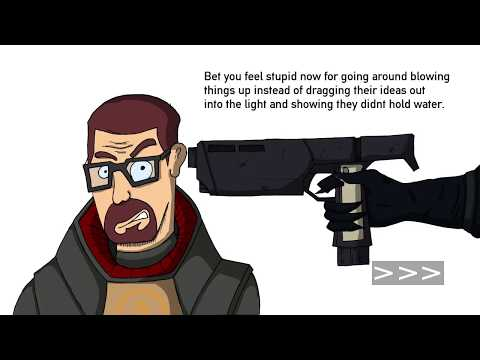 Half Life 2 - Episode 3, Gordon Freeman : Rational Man - Gordon Trades His Crowbar For Truth Bombs!